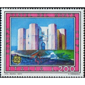 ITA Selo, 1977, Yt:IT 1300, (Mint), Tourist - Castel del Monte.