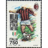 ITA Selo, 1993, Yt:IT 2014, (Mint), Milan National Football Champion.