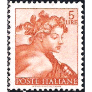 ITA Selo, 1961, Definitivo/Regular, (Mint), Yt:IT 833, Head of the prophet Daniel.