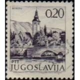 IUG Selo, 1972, (N), Yt:YU 1352, Church and bridge in Bohinj (Sightseeing).