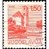 IUG Selo, 1976, (N), Yt:YU 1537, Sightseeing, Church, Bihac.