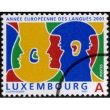LUX Selo, 2001, (Mint), European Year of Languages.