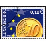 LUX Selo, 2001, (Mint), Euro Coins.