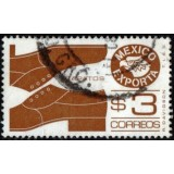 MEX Selo, 1975, (U), Yt:MX 825H, Mexican Exports (Shoes).