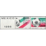 MEX Selo, 1984, (Mint), Football World Cup - México 1986.