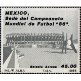 MEX Selo, 1985, (Mint), Football World Cup - México 1986.
