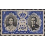 MNC Selo, 1956, (U), Wedding of Prince Rainier III & Grace Kelly.