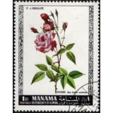 MAN (Bahrein) Selo, 1969, (Mint), Roses, Indes Commun.