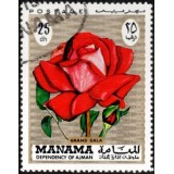 MAN Selo, 1971, (Mint), Grand Gala (Série Roses).