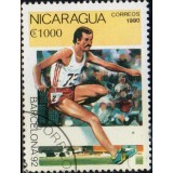 NIC Selo, 1990, (N), Yt:NI 1531, Olympic Games - Barcelona, Spain 1992 (Steeplechase).