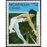 NIC Selo, 1990, (N), Yt:NI 1534, Olympic Games - Barcelona, Spain 1992 (Gymnastics).