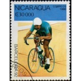 NIC Selo, 1990, (N), Yt:NI 1535, Olympic Games - Barcelona, Spain 1992 (Cycling).