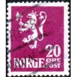 NOR Selo, 1922, (U), Lion type I.