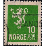 NOR Selo, 1940, (N), Yt:NO 203, National arms - Photogravure (Lion type, Crown values).