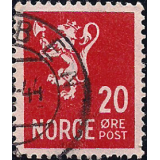 NOR Selo, 1940, (N), Yt:NO 229, National arms - Photogravure (Lion type).