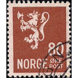 NOR Selo, 1946, (N), Yt:NO 292, Old national arms (Lion Type II).