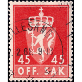 NOR Selo, 1958, (N), Yt:NO S77, OFF. SAK I.