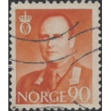 NOR Selo, 1959, (N), Yt:NO 383(A), King Olav V.