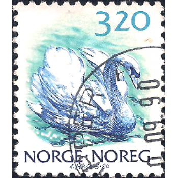 NOR Selo, 1990, (N), Yt:NO 997, Norwegian Animals.