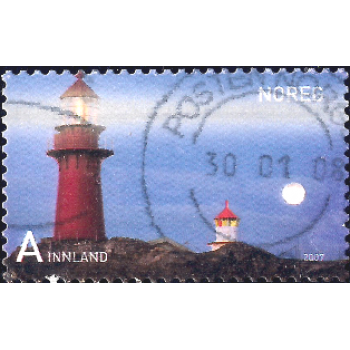 NOR Selo, 2005, (N), Lighthouses - Self-Adhesive (Tranøy).