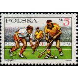 POL Selo, 1985, (U), The 60th Anniversary of the Outdoor Hockey Society.