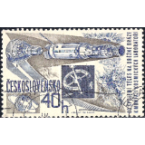 RTC Selo, 1967, (Mint), Yt:CS 1551, Space Research, Space craft, rocket (Gemini-Agena).