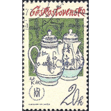 RTC Selo, 1977, (MINT), Yt:CS 2217, Czechoslovak Porcelain, Tradition of Czech porcelain.