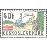 RTC Selo, 1979, (Mint), Yt:CS 2351, Historic Bicycles, Bicycles (1910).