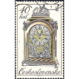 RTC Selo, 1979, (Mint), Yt:CS 2355, Historic Clocks, 18th century clock.