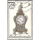RTC Selo, 1979, (Mint), Yt:CS 2356, Historic Clocks, 18th century clock.