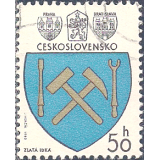 RTC Selo, 1980, (Mint), Yt:CS 2382, Arms of Czech Towns, Zlatá Idka.