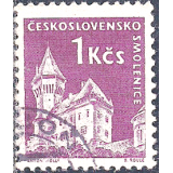 RTC Selo, 1960, (N), Definitivo/Regular, Yt:CS 1074, Czechoslovak Castles, Smolenice castle.