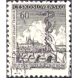 RTC Selo, 1962, (N), Yt:CS 1204, Cultural Celebrities and Anniversaries, Czech Medical Association, 100th Anniversary.