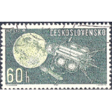 RTC Selo, 1963, (N), Yt:CS 1270, Space Research.