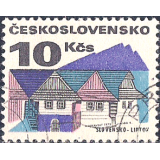 RTC Selo, 1972, Definitivo/Regular, (N), Yt:CS 1922, Old Buildings, Slovakia - Liptov.