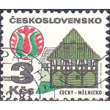 RTC Selo, 1972, Definitivo/Regular, (N), Yt:CS 1920, Old Buildings, Čechy - Mělnicko.