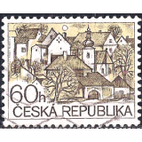 RTC Selo, 1995, Definitivo/Regular, (N), Yt:CZ 71, Definitive Issues, Village with a village square and church.