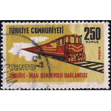 TUR Selo, 1971, (N), Yt:TR 2009, International Rail Links, Railway connections.