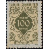 TUR Selo, 1972, (N), On Service Stamps.
