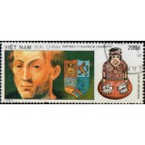 VIS Selo, 1990, (Mint), 500th Anniv. of discovery of America (Portrait Of Colombus).